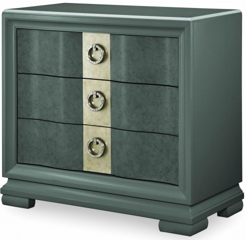 Tower Suite Moonstone 3 Drawer Bedside Chest