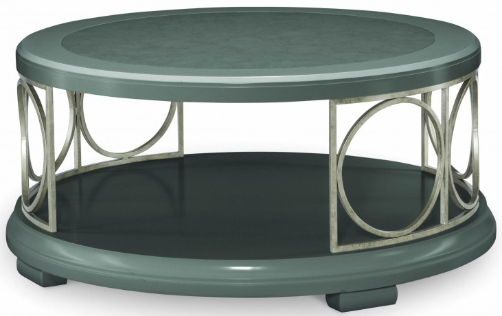 Tower Suite Moonstone Round Cocktail Table