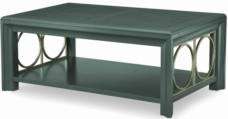 Tower Suite Moonstone Rectangular Cocktail Table