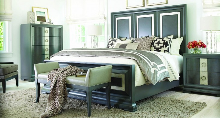 Tower Suite Moonstone Panel Bedroom Set