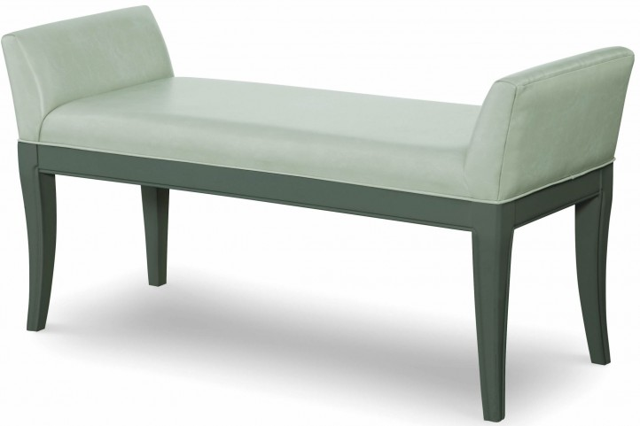 Tower Suite Moonstone Upholstered Bench