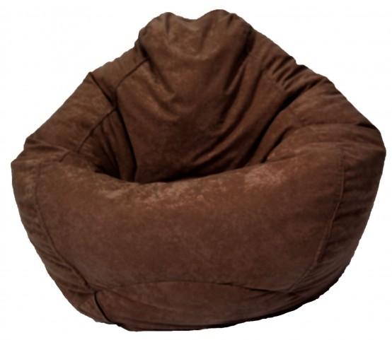 Big Joe Espresso Comfort Suede The Big Bag