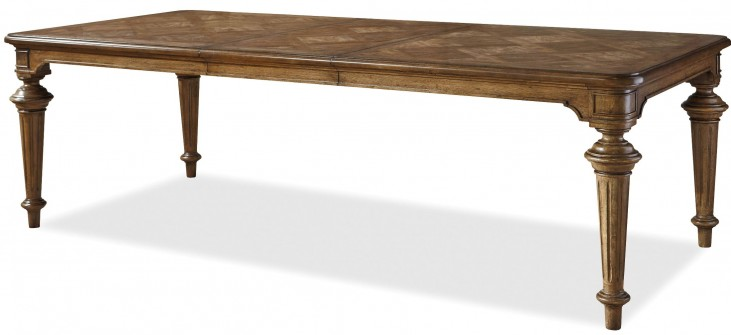 Remix Bannister Extendable Dining Table