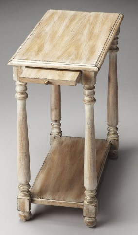 Devane Masterpiece Driftwood Chairside Table