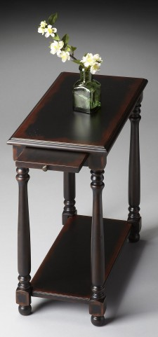 Masterpiece Devane Midnight Rose Chairside Table