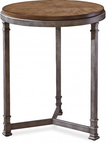 Remix Bannister Round Chair Side Table