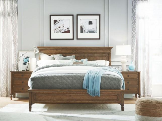 Remix Bannister Platform Bedroom Set