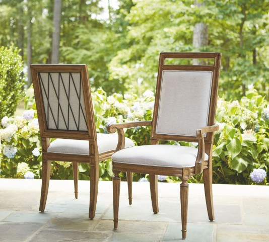 Remix Bannister Dining Arm Chair Set of 2