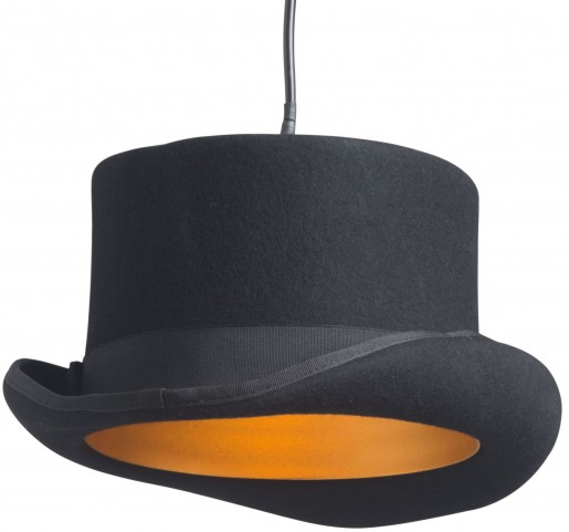 Aspiration Black & Gold Ceiling Lamp
