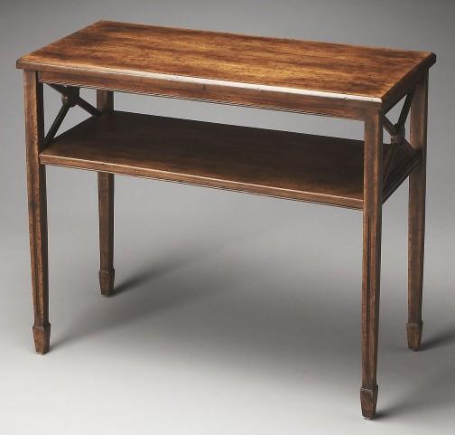 Masterpiece Alcott Dark Toffee Console Table