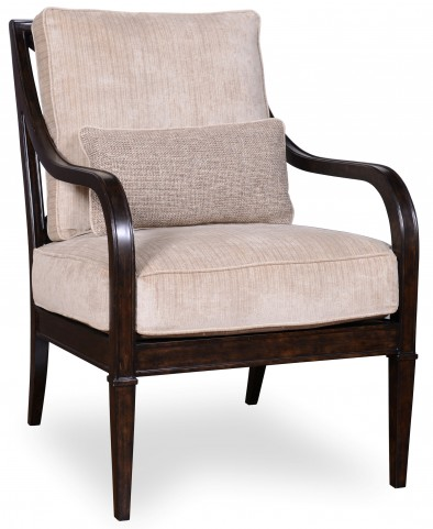 Blair Fawn x Back Accent Chair
