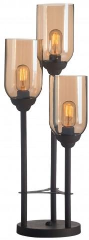 Jump Rust & Amber Table Lamp