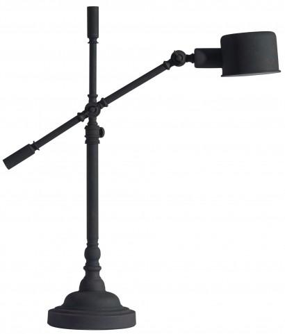 Turn Black Sand Granite Table Lamp