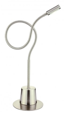 Eternity Satin Steel Extended Gooseneck