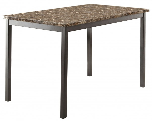Flannery Faux Marble Dining Table