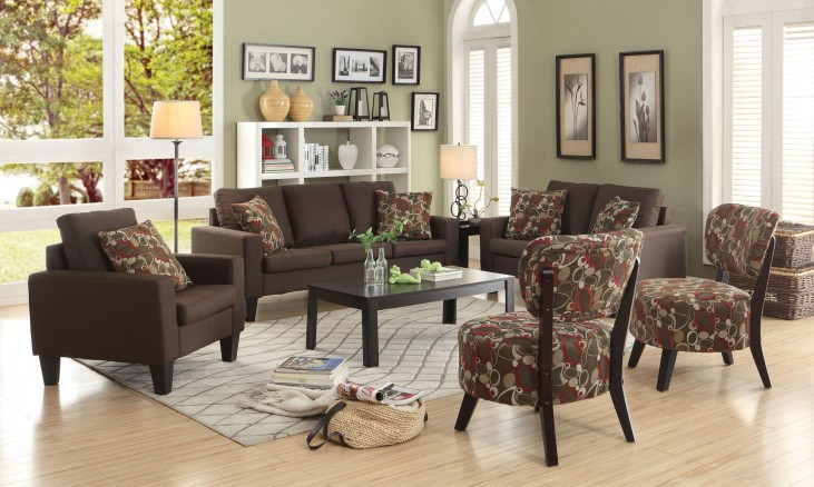 Bachman Brown Living Room Set