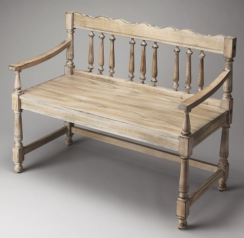 Masterpiece Cather Driftwood Bench