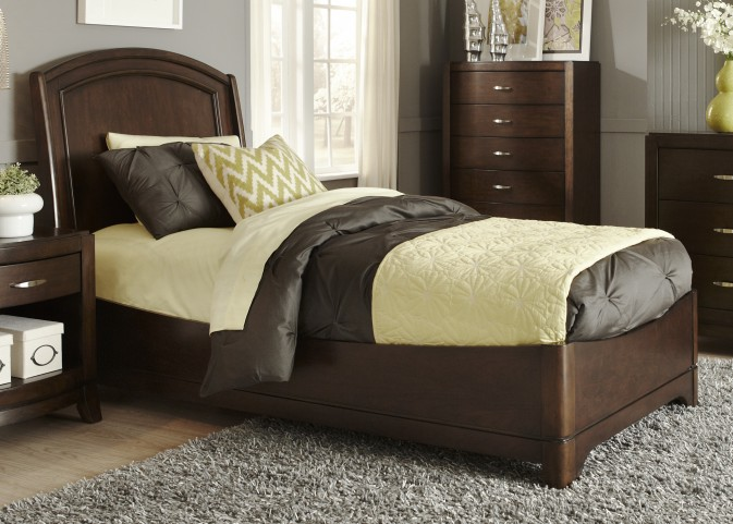 Avalon Truffle Youth Platform Bedroom Set