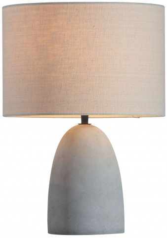 Vigor Beige & Concrete Gray Table Lamp