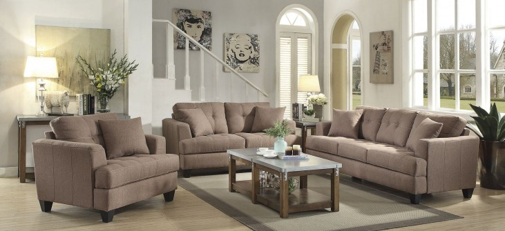 Samuel Brown Living Room Set