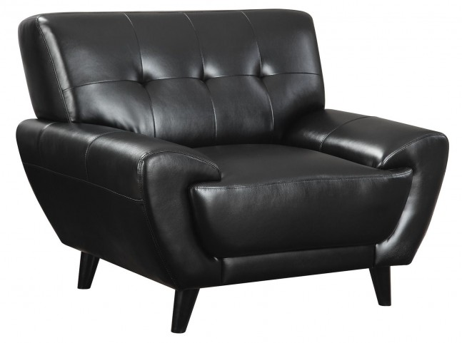 Leskow Black Chair