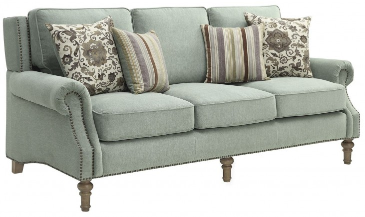 Rosenberg Light Sage Sofa
