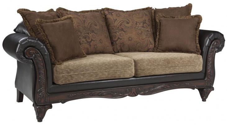 Garroway Russet/ Chocolate Sofa
