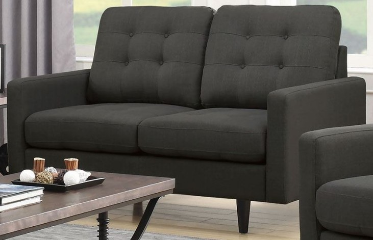 Kesson Charcoal Loveseat