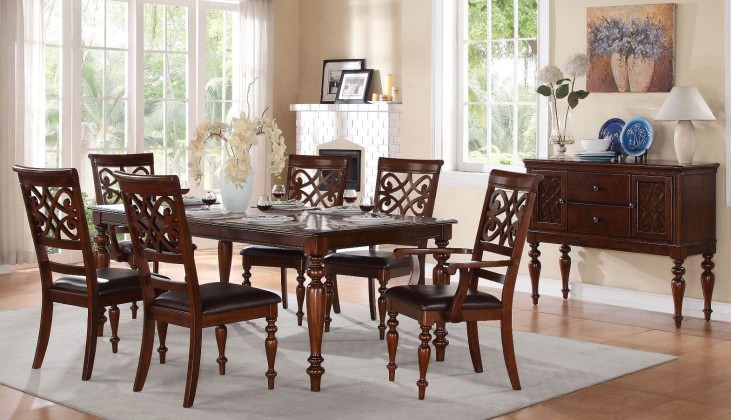 Creswell Extendable Dining Room Set