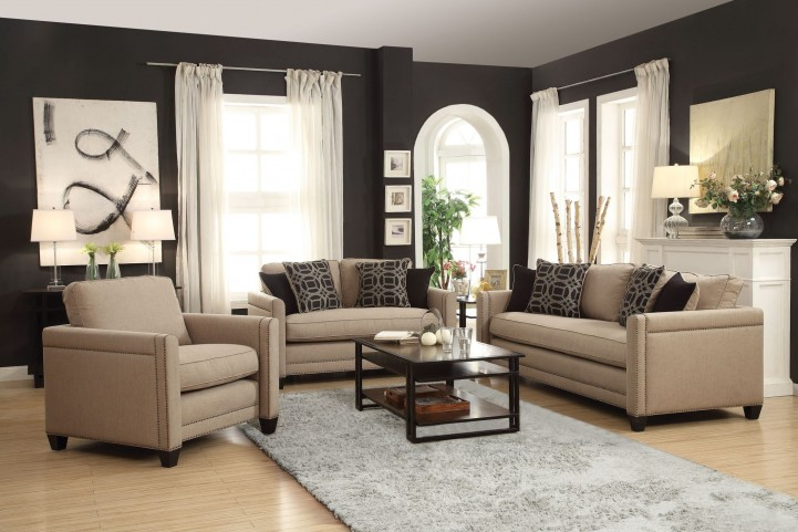 Pratten Wheat Living Room Set