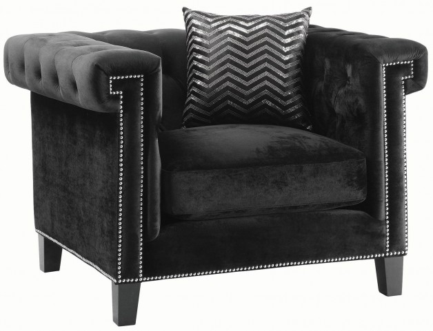 Reventlow Black Chair
