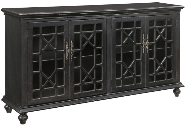 50625 Four Door Media/Credenza