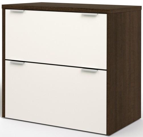 Contempo Tuxedo & Sandstone Lateral File Deluxe shock resistant