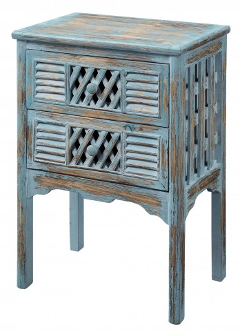 Two Drawer Accent Chest 50638