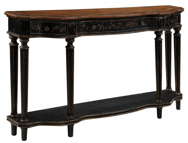 Three Drawer Console Table 50685