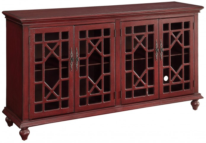 50695 Four Door Media/Credenza