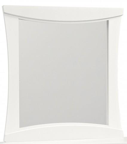 Vogue Glossy White Mirror
