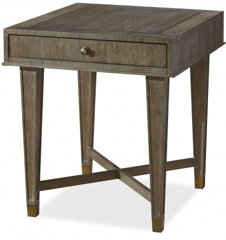 Playlist Brown Eyed Girl Drawer End Table