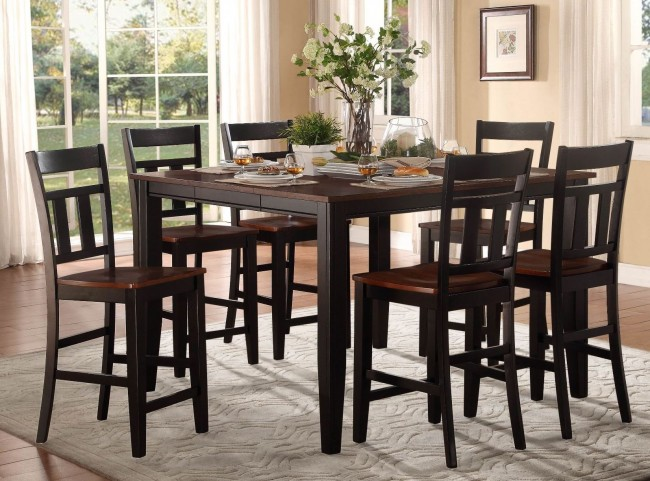 Westport Extendable Counter Height Dining Room Set