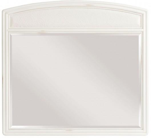 Siesta Sands White Sand Landscape Mirror