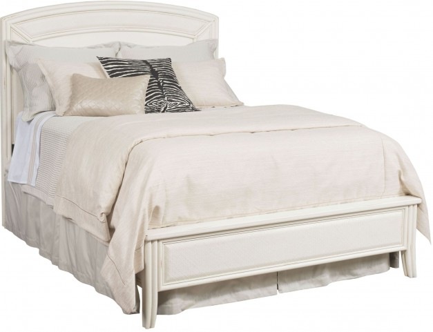 Siesta Sands White Sand King Low Profile Bed