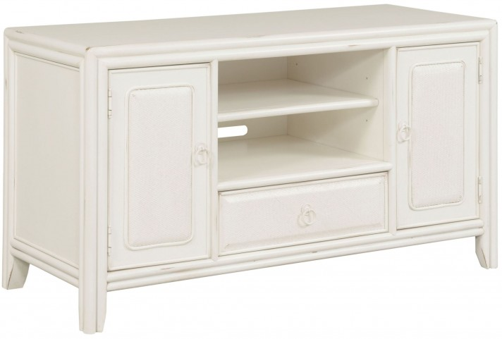 "Siesta Sands White Sand 54"" Entertainment Unit"