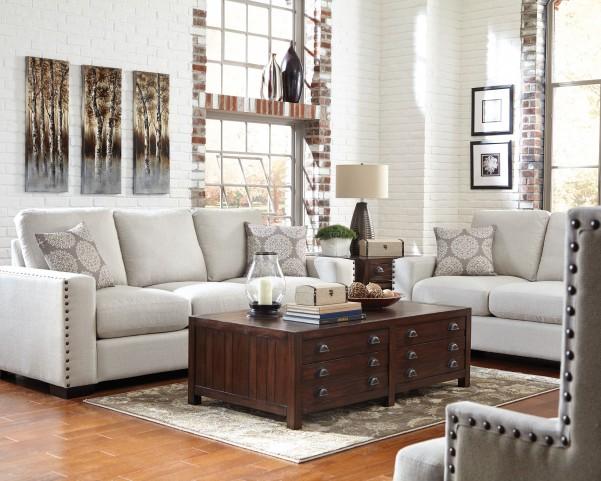 Rosanna Pewter Linen Living Room Set