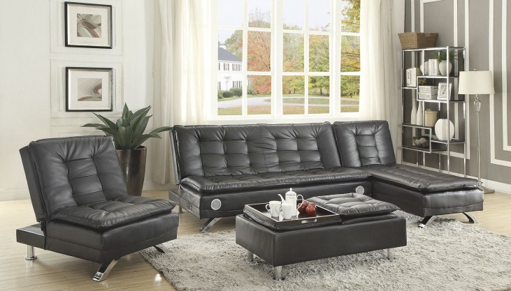 Erickson Black Sectional