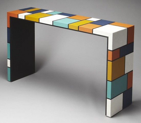 Mosaic Loft Console Table
