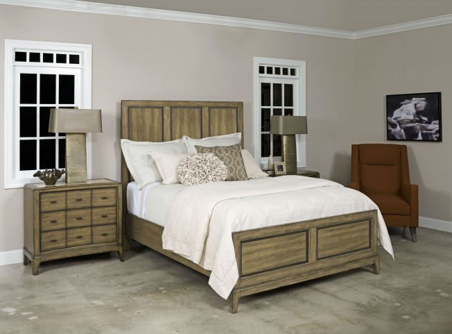 Evoke Barley Panel Bedroom Set