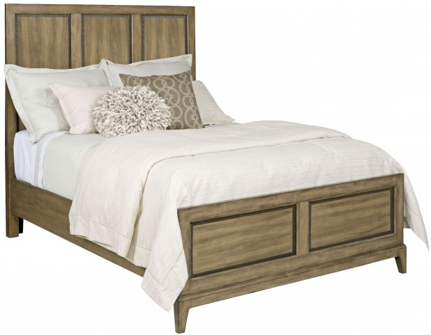 Evoke Barley Cal. King Panel Bed