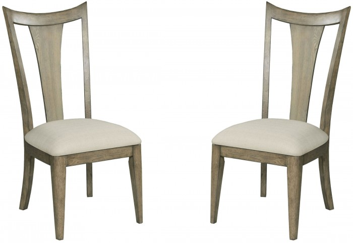 Evoke Barley Slat Back Side Chair Set of 2