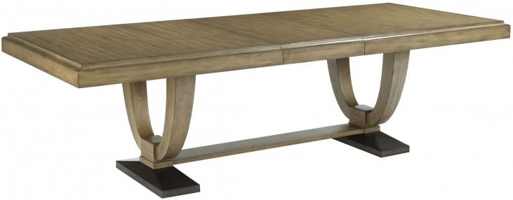 Evoke Barley Trestle Extendable Dining Table