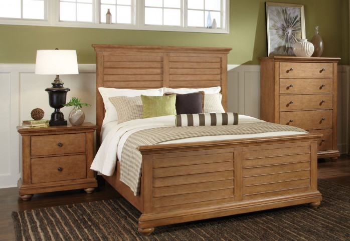 Pathways Sandstone Panel Bedroom Set